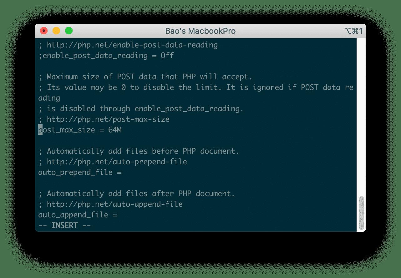 thay đổi post_max_size phpmyadmin directadmin - tăng giới hạn upload/import phpMyadmin Directadmin