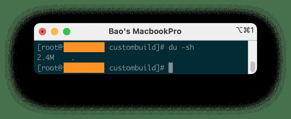 dọn dẹp thư mục custombuild DirectAdmin