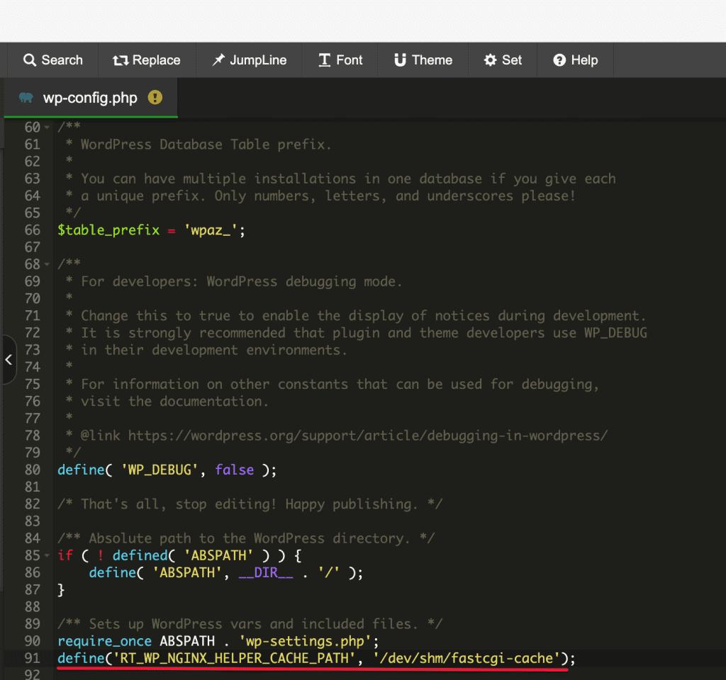 Cấu hình NGINX FastCGI Cache WordPress trên aaPanel 6.x
