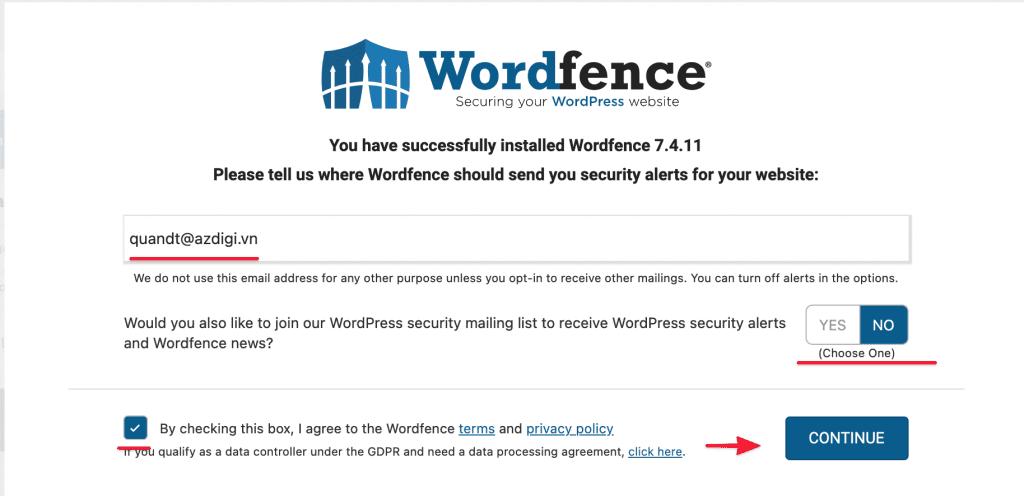 Bảo mật website WordPress bằng Plugin Wordfence