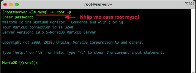 Các lệnh quản lý cơ sở dữ liệu MySQL/MariaDB