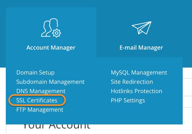 kích hoạt SSL Let's Encrypt trên DirectAdmin