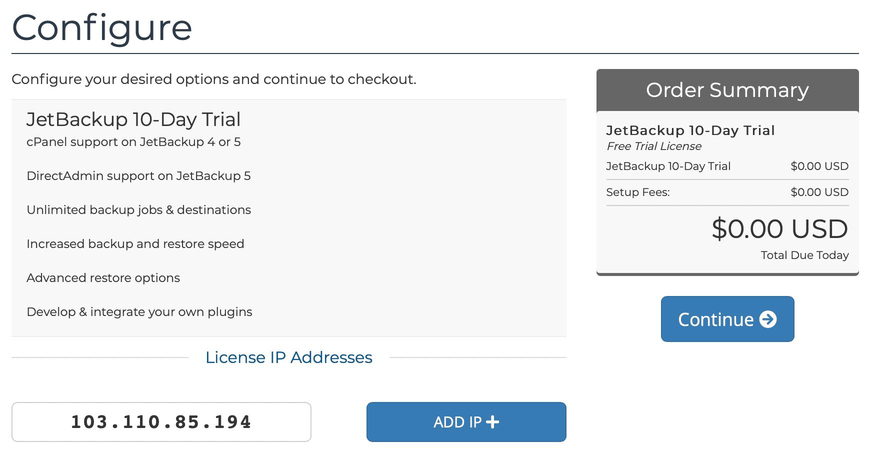 how to install cài đặt Jetbackup vào DirectAdmin