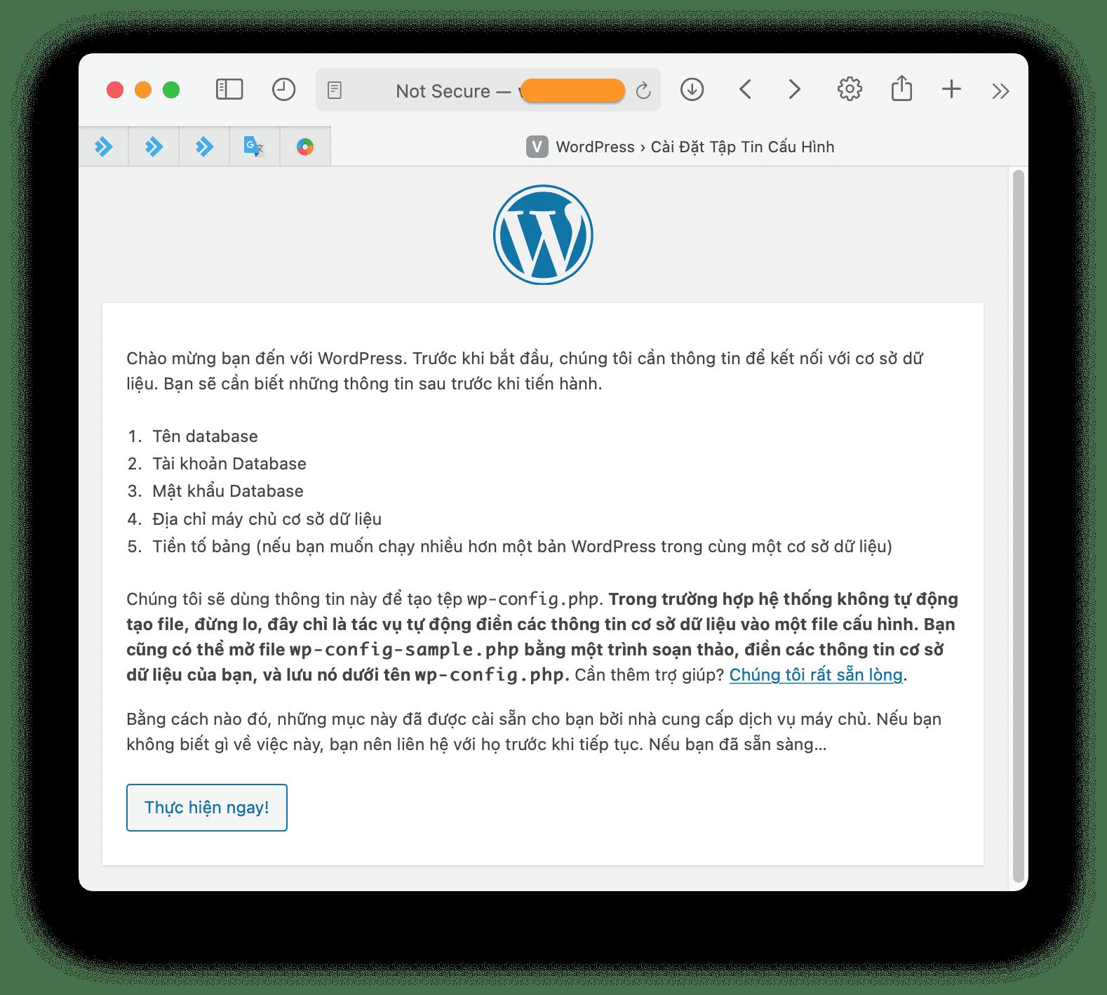 Cài đặt WordPress aaPanel - install wordpress to aapanel manual