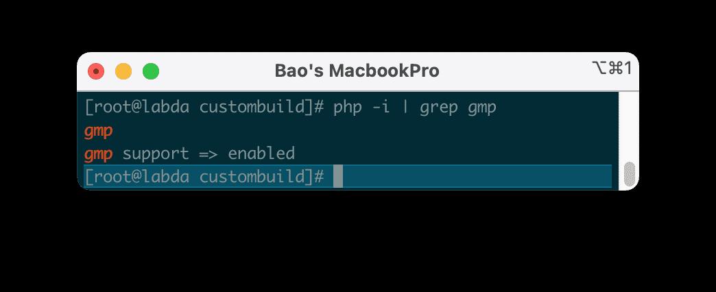 cài đặt GMP PHP Extension trên DirectAdmin