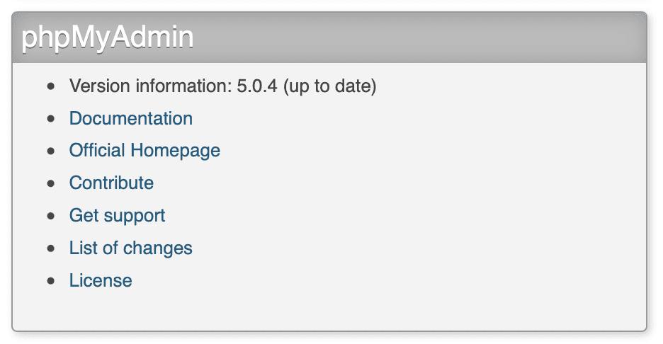 nâng cấp phpMyAdmin trên DirectAdmin
