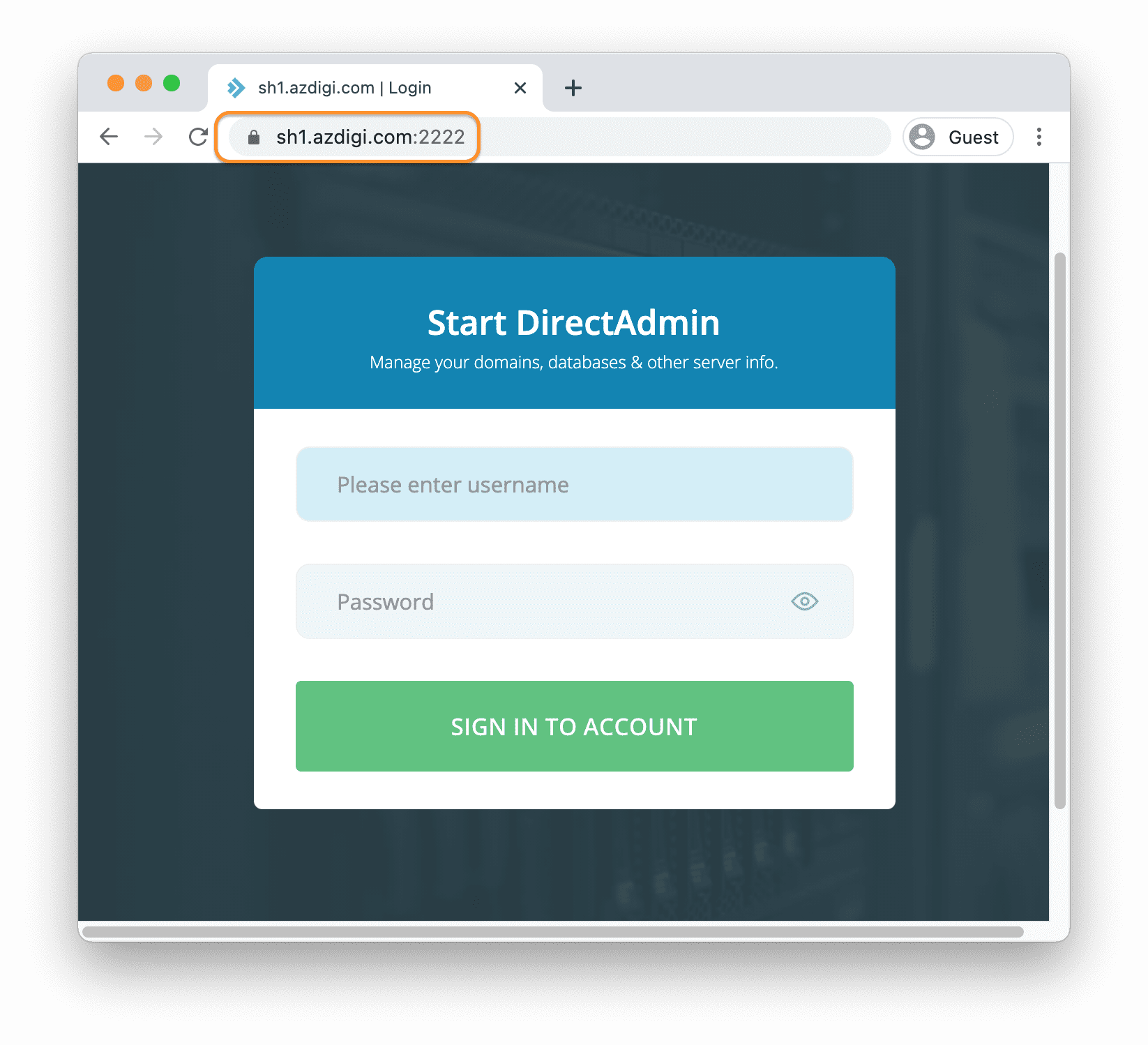 cài đặt SSL cho Hostname DirectAdmin - Installing an SSL certificate for your hostname using LetsEncrypt