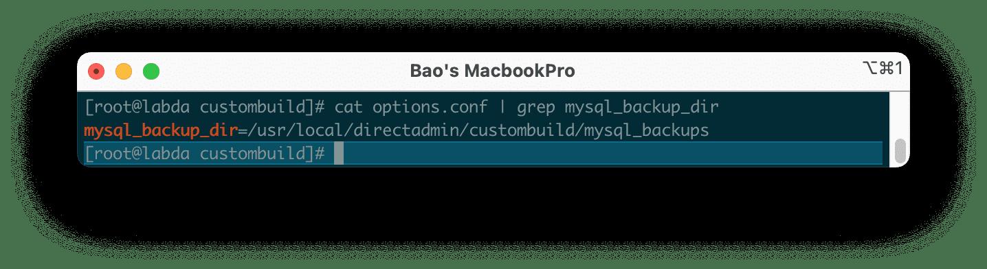 Nâng cấp MariaDB trên DirectAdmin - Upgrade MariaDB DirectAdmin
