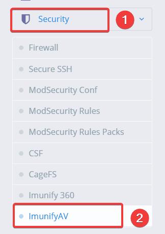 cài đặt ImunifyAV trên CyberPanel