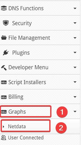 Cài đặt NetData vào Centos Web Panel