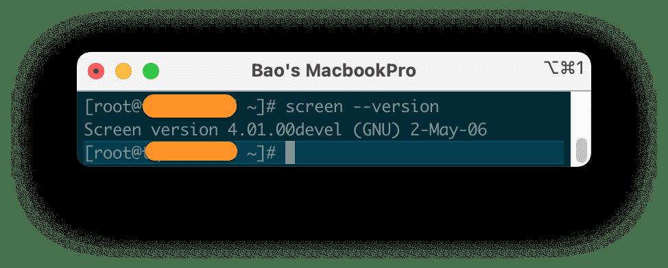 sử dụng Screen trên Linux