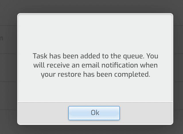 Backup Restore trên HestiaCP