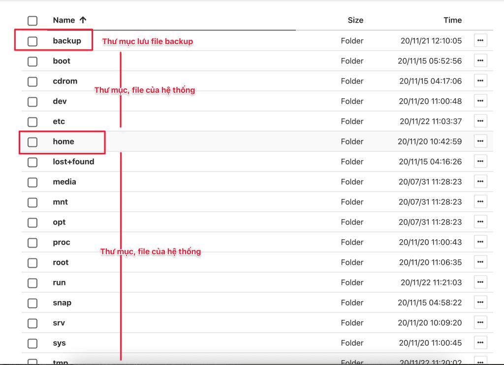 sử dụng File Manager trên HestiaCP