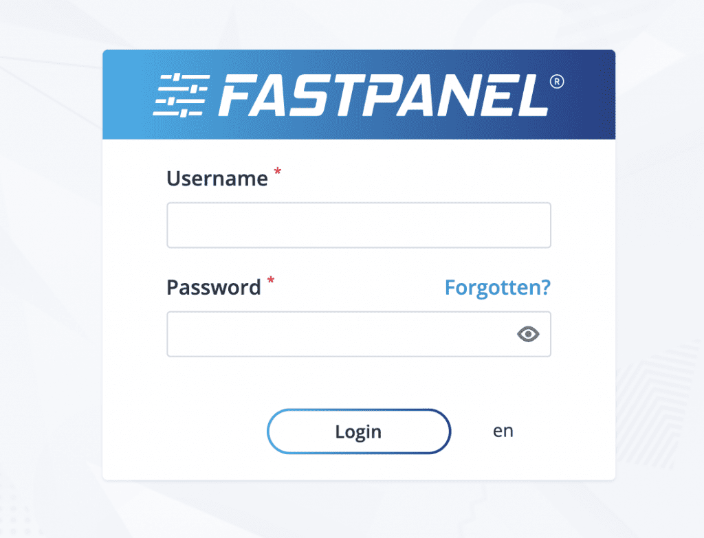 cấu hình SSL FASTPANEL