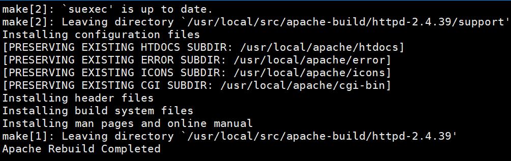 nâng cấp Apache trên Centos Web Panel