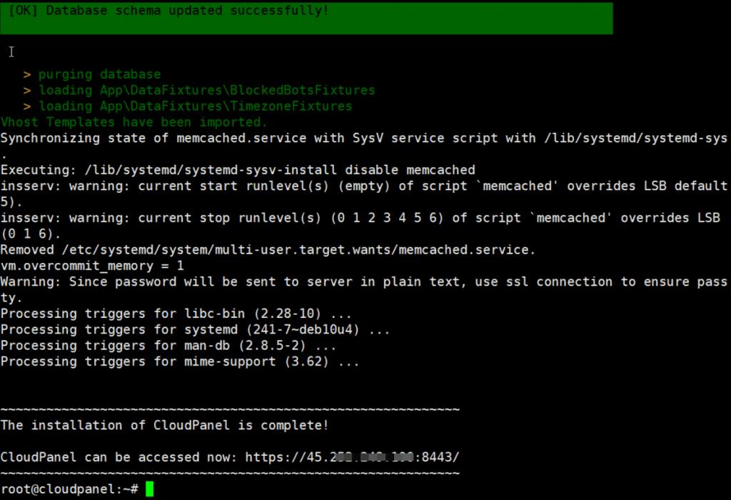 cài đặt CloudPanel trên Debian 10