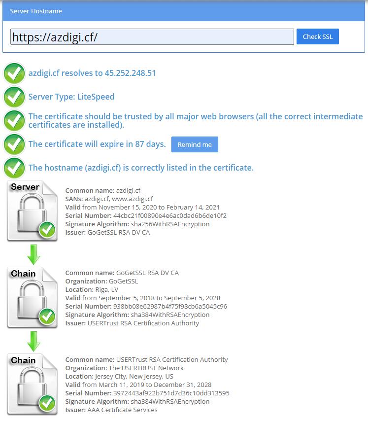 Cài đặt SSL có phí trên CyberPanel