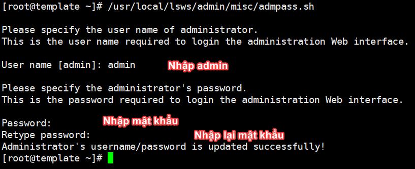 Cài đặt OpenLiteSpeed, MariaDB và PHP  trên Centos 7