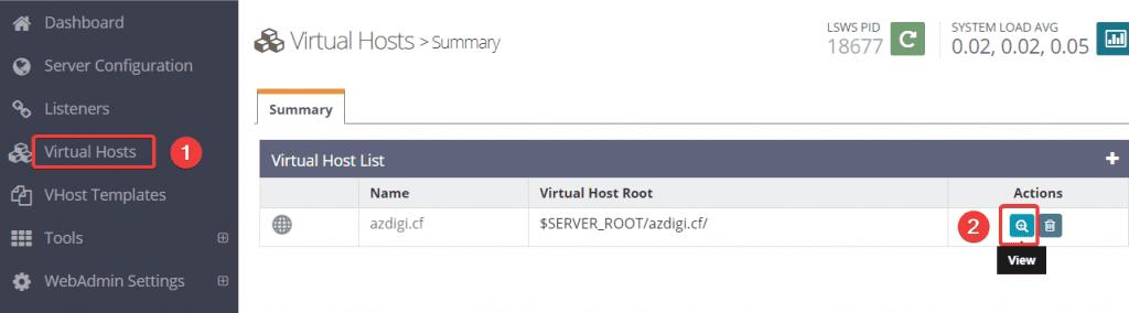 Kích hoạt QUIC (HTTP/3) trên OpenLitespeed