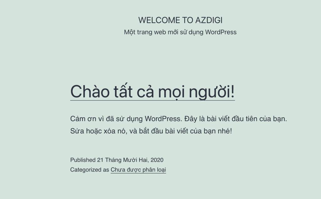 cài đặt WordPress lên Centmin Mod
