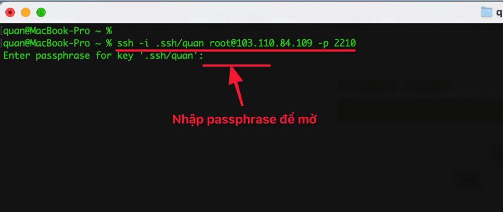 Hướng dẫn tạo và sử dụng SSH Key