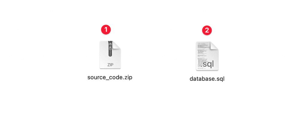 cài đặt mã nguồn có sẵn lên Webinoly