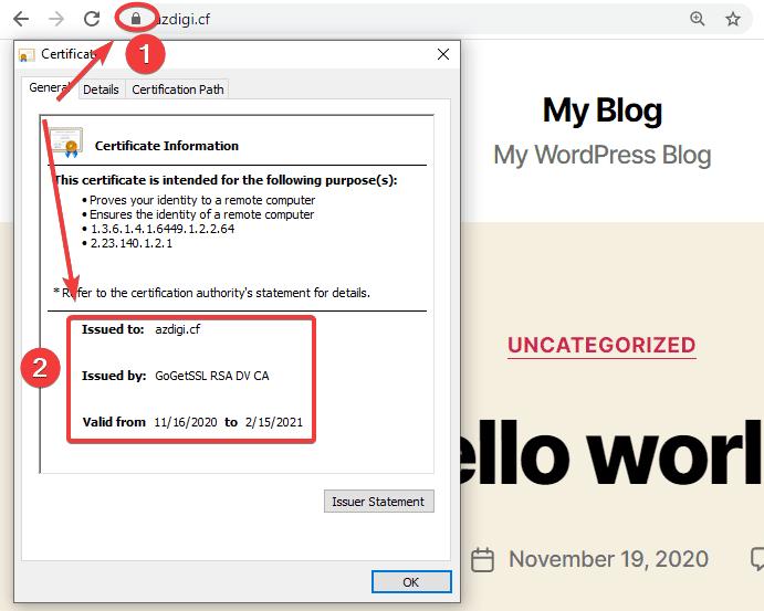 Cài đặt SSL trả phí trên CloudPanel