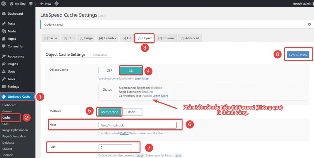 Cài đặt LSMemcached trên OpenLiteSpeed