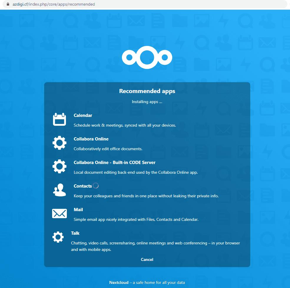 Cài đặt Nextcloud trên CloudPanel
