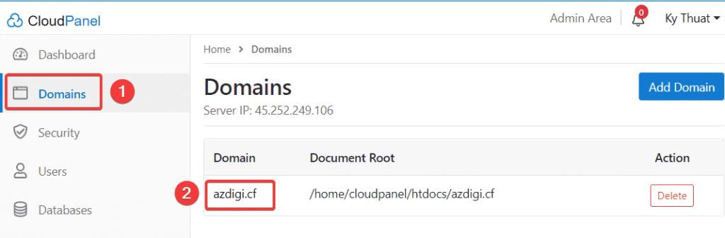 Thay đổi phiên bản và cấu hình PHP trên CloudPanel
