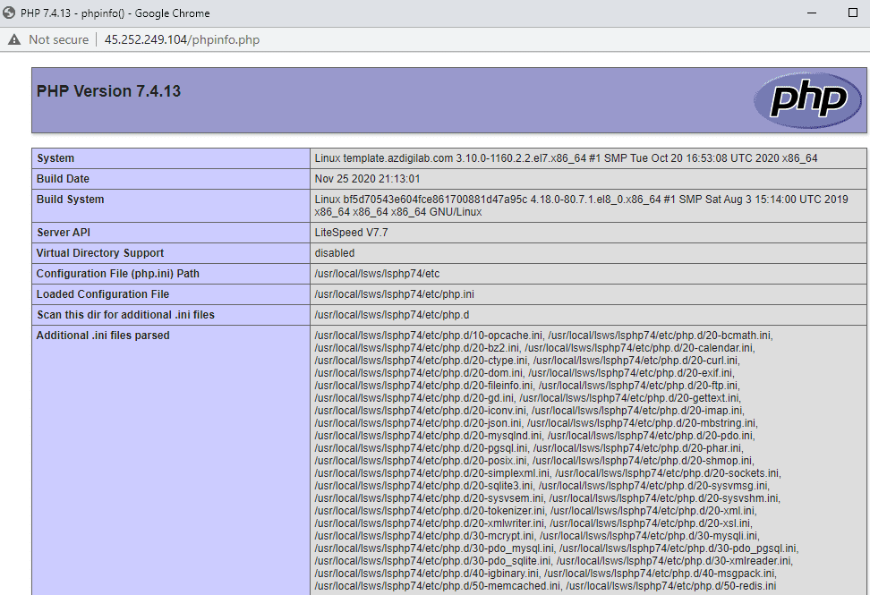 Hướng dẫn tối ưu OpenLiteSpeed WebAdmin GUI