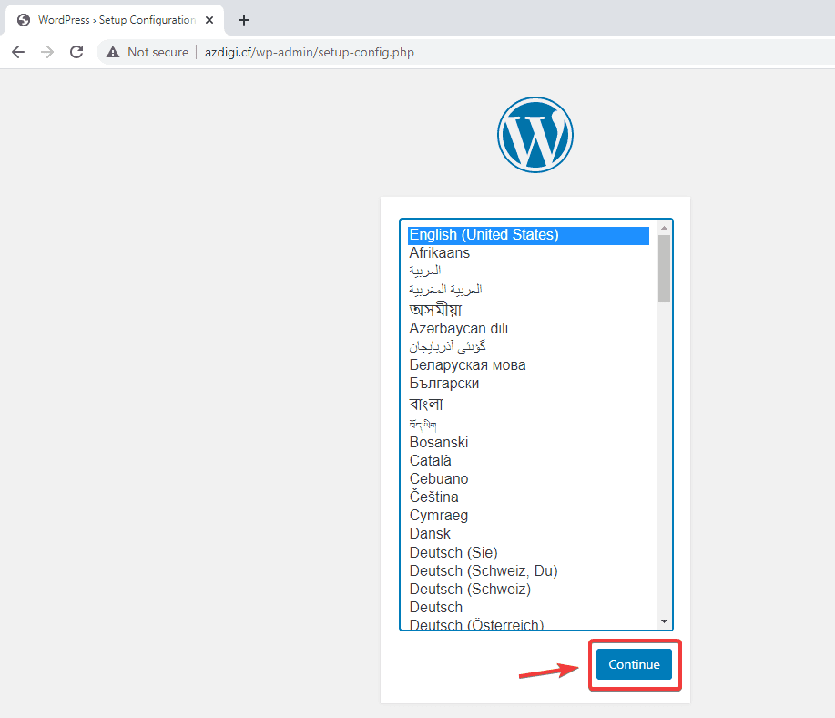 Cài đặt wordpress lên Openlitespeed