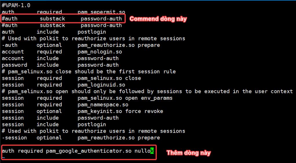 Cấu hình Google Authenticator SSH trên CentOS 7