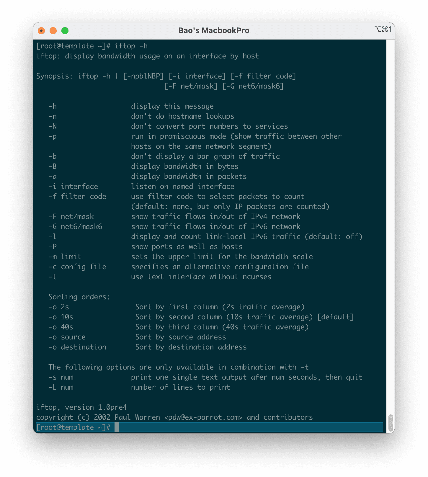 iftop-linux-network-bandwidth-monitoring-tool