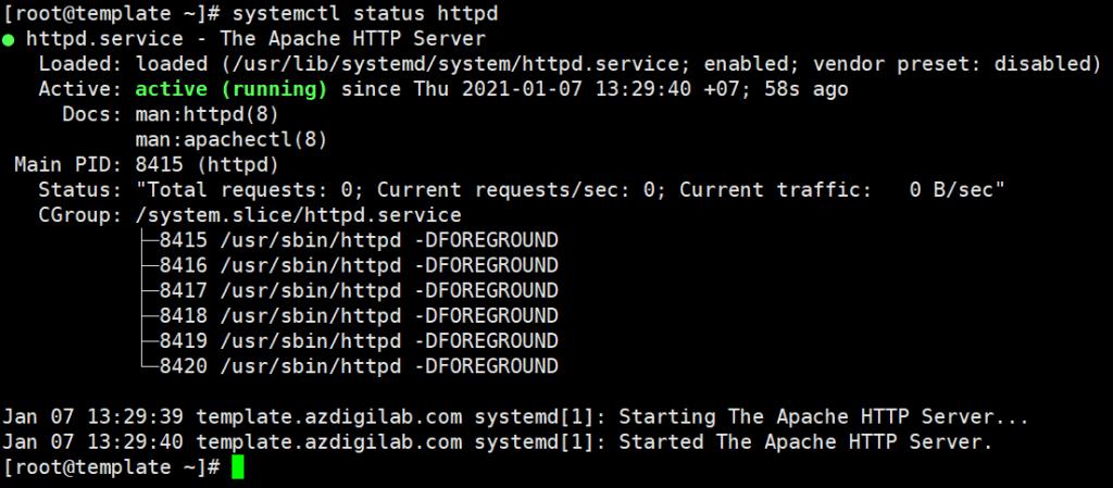 Hướng dẫn cài đặt LAMP Stack trên CentOS 7