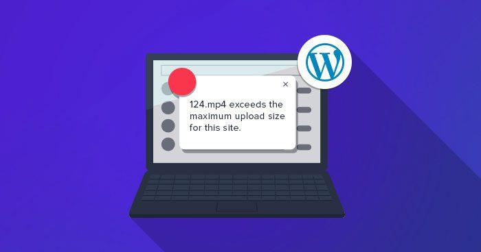 Nâng giới hạn tải lên WordPress