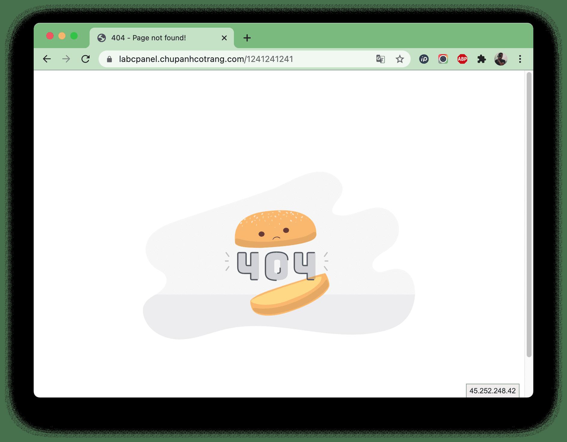 Tạo custom error pages với .htaccess