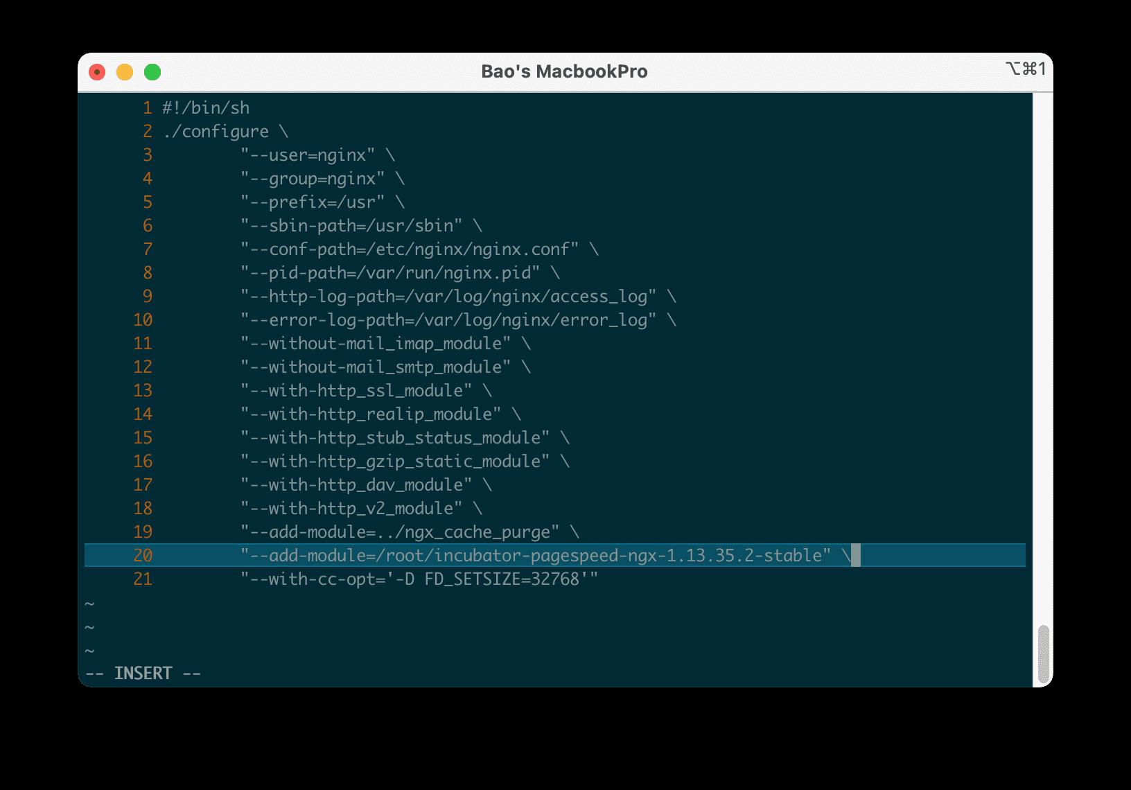 Cài đặt mod_pagespeed vào Nginx trên DirectAdmin